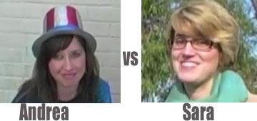 Andrea vs Sara