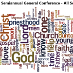 182nd Semiannual General Conference Tag Clouds