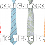 183rd Semiannual General Conference Tie Tracker