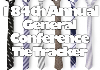 Who brings you the best in General Conference neckware analysis? We do, at This Week in Mormons. Join us for some serious General Conference breakdown.