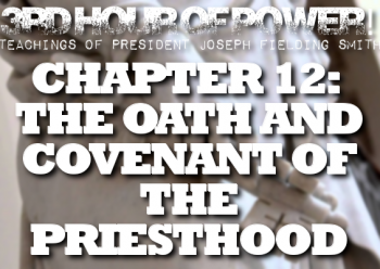 Join us for a rousing discussion on the Oath and Covenant of the priesthood. How are all the blessings of the priesthood given to everyone?
