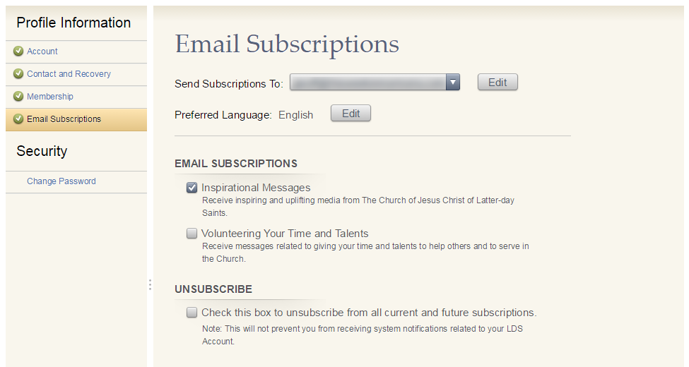 LDS Church Adds Email List Functionality to LDS.org Accounts