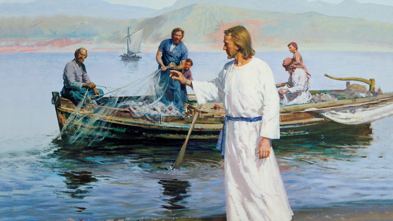 "New Testament Lesson 6: ""They Straightway Left Their Nets"" (Luke 4, 5)"