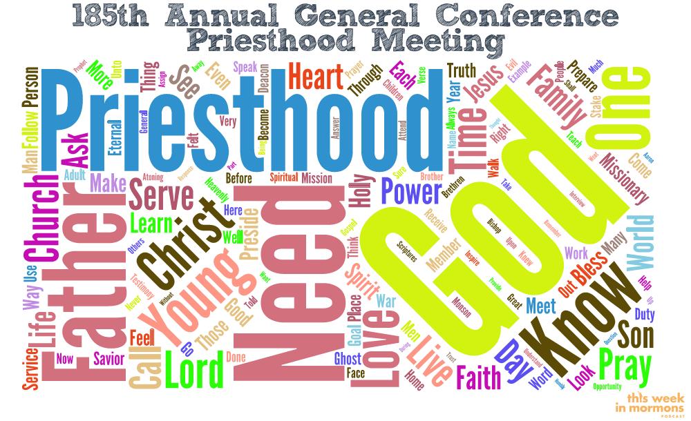 185th Annual LDSCONF - Priesthood