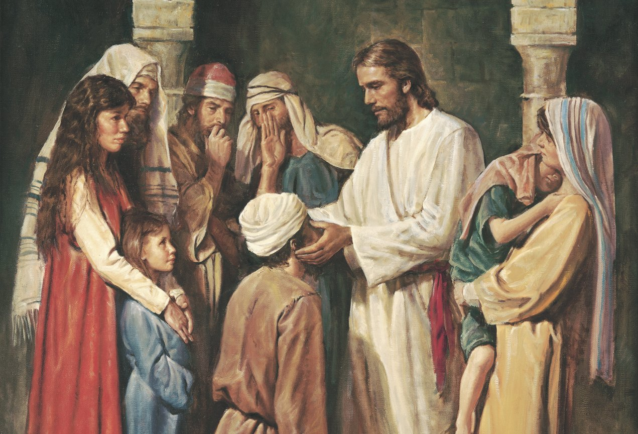 "New Testament Lesson 16: ""I Was Blind, Now I See"""