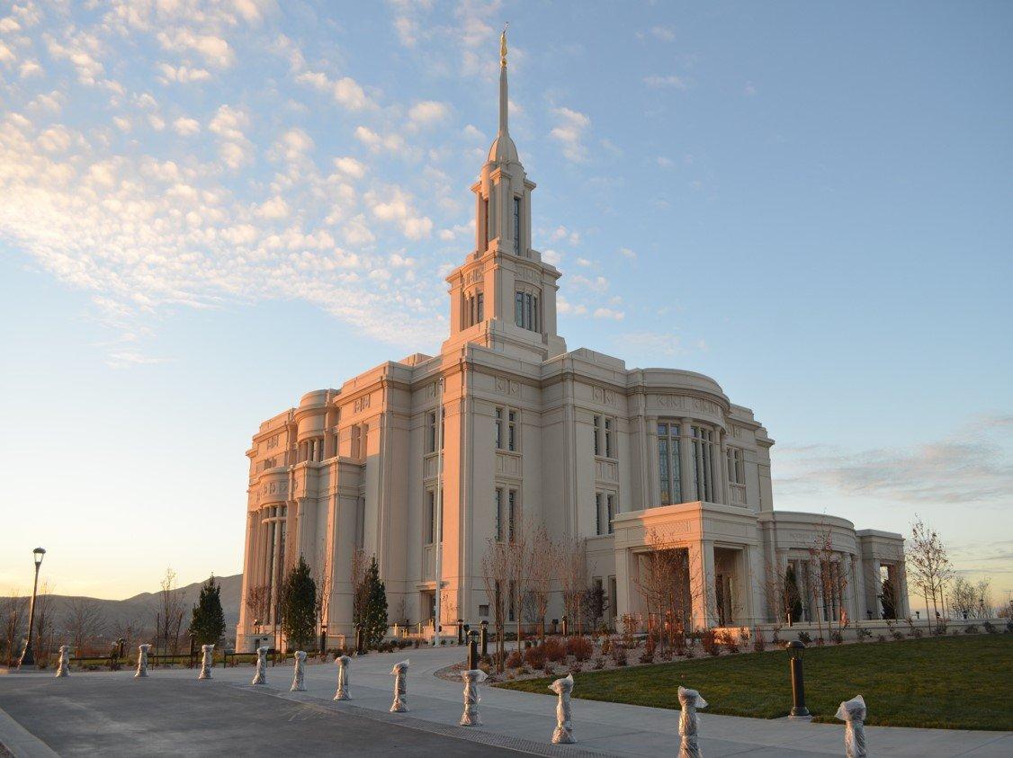 Payson Utah Temple Dedicated