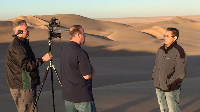 a desert interview