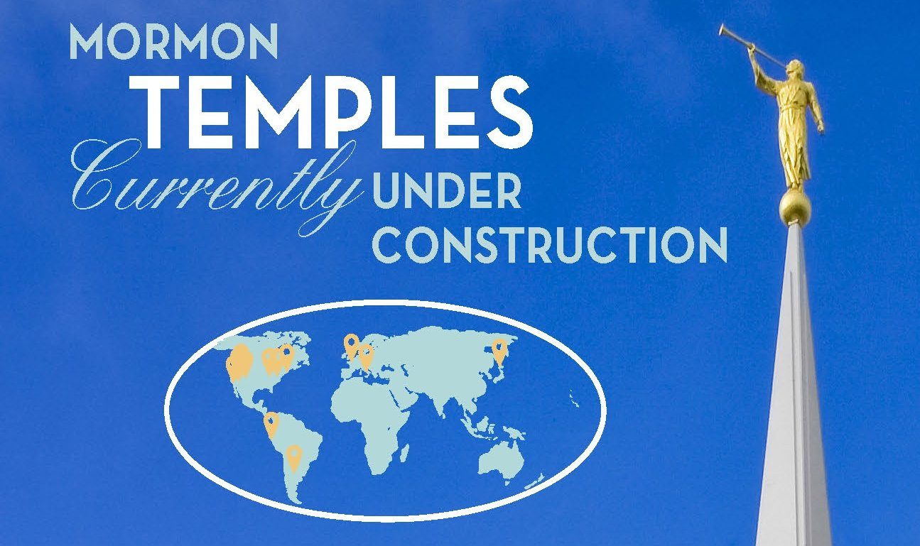 View Progress of Mormon Temple Construction with One Snazzy Infographic