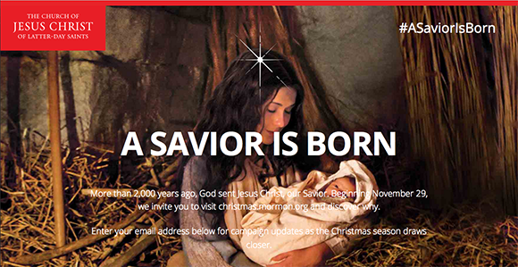 Mormon.org a savior is born screen shot