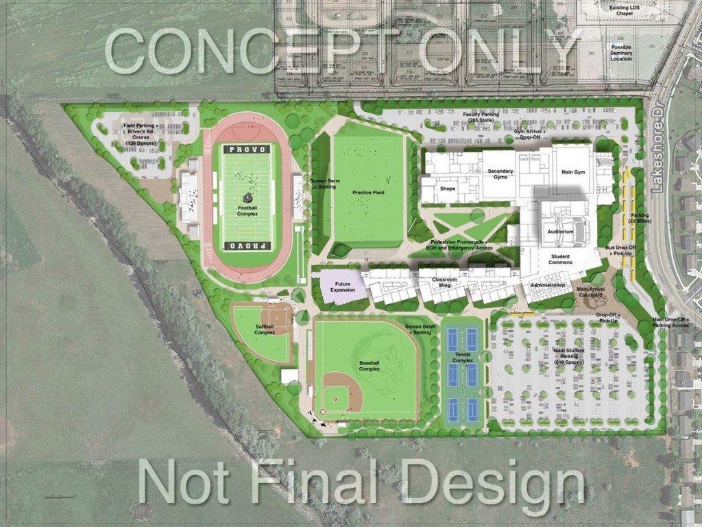 Provo High School Concept