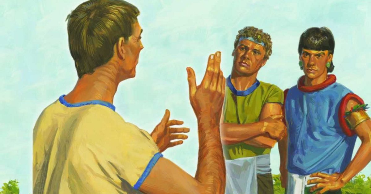 """Book of Mormon Lesson 29: """"Give Ear to My Words"""""""