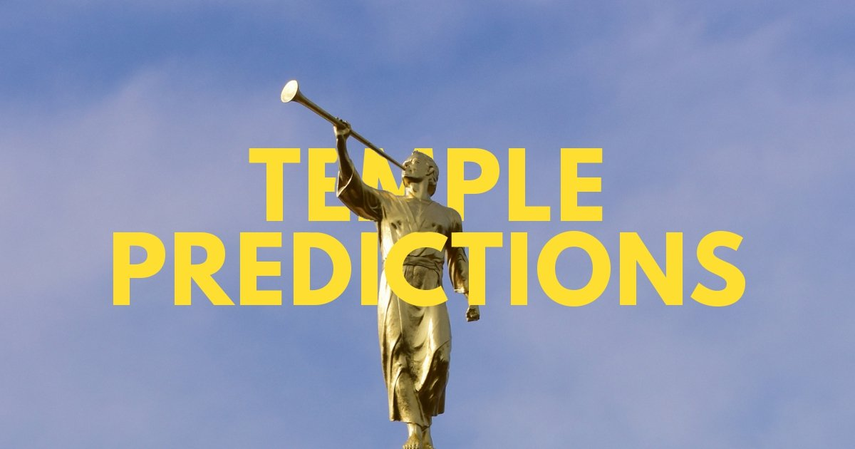 Temple Announcement Predictions: 186th Semiannual General Conference