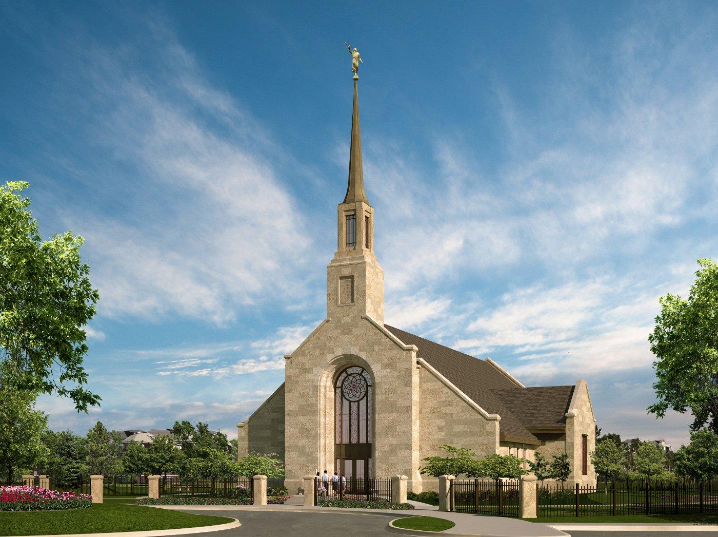 Groundbreaking Announced for Winnipeg Manitoba Temple