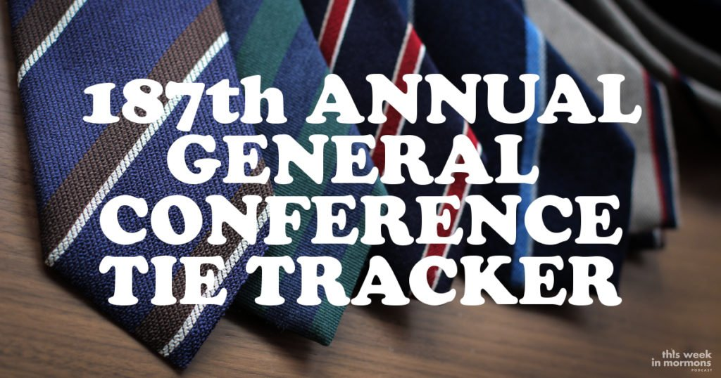General Conference Tie Tracker, April 2017