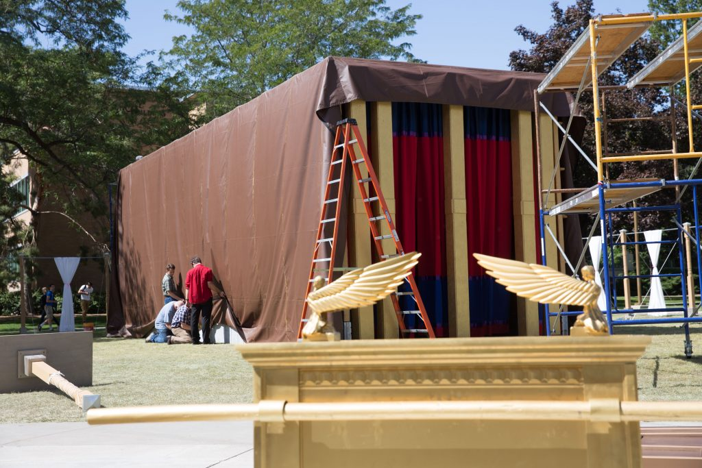 Full-Scale Biblical Tabernacle Replica on Display at Brigham Young University