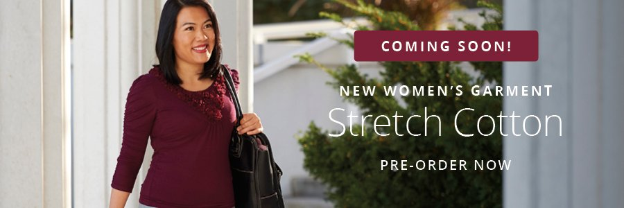 LDS Church Announces New Garment Style for Women