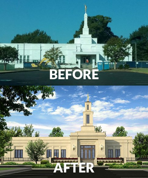 Map Of Arizona Lds Temples.For Some Small Temples A Renovation Means A Complete Rebuild
