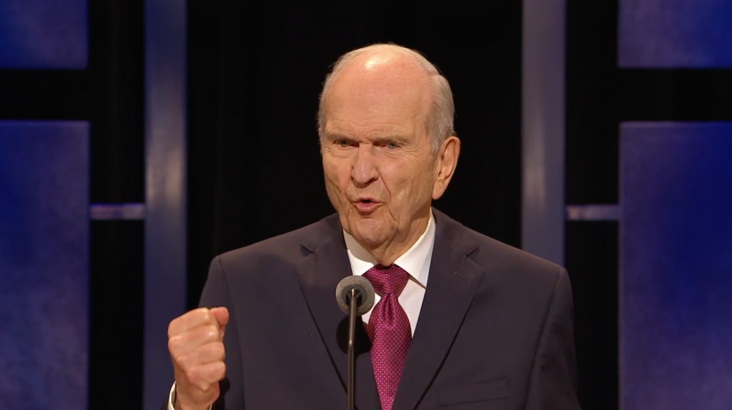 Lds Church President Russell M Nelson Encourages Social Media Fast