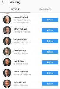 This Week in Mormons - The Apostles Are On Instagram - And