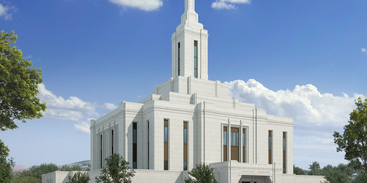 Pocatello Idaho Temple Design Released