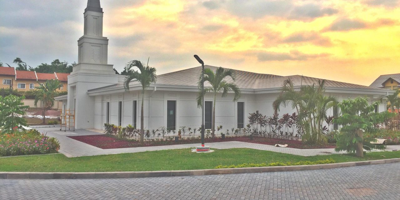 Kinshasa Democratic Republic of the Congo Temple Gets a Dedication Date