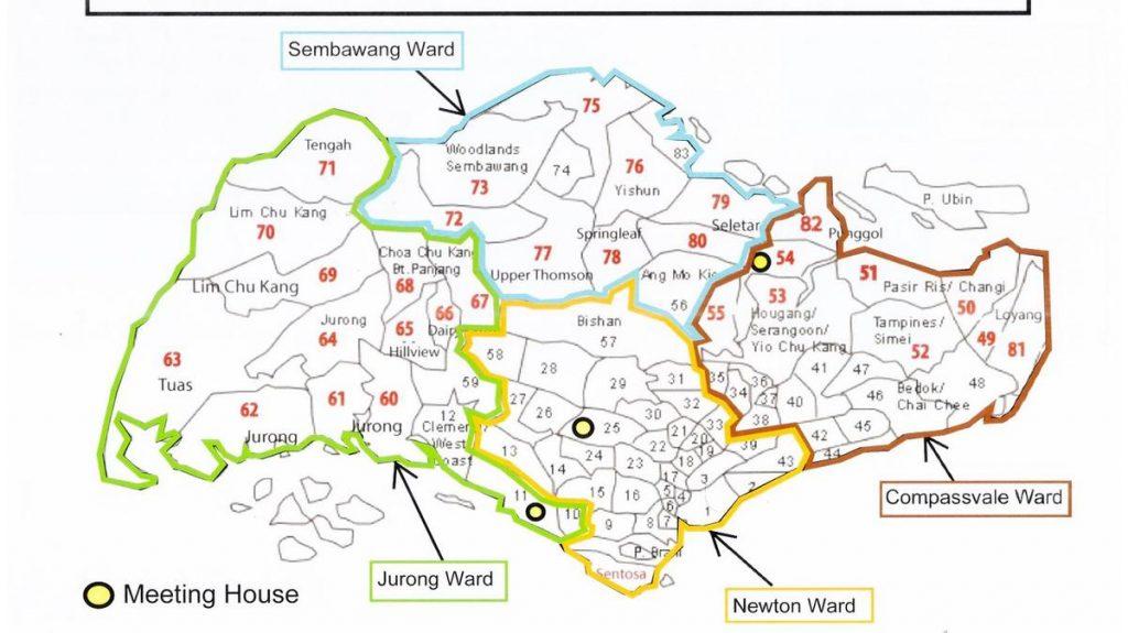 2019 Singapore Stake Map