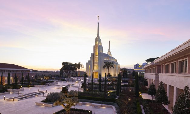 First Photos Released of Rome Italy Temple