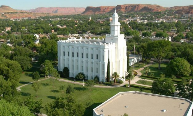 St. George Utah Temple Closing for Major Renovation