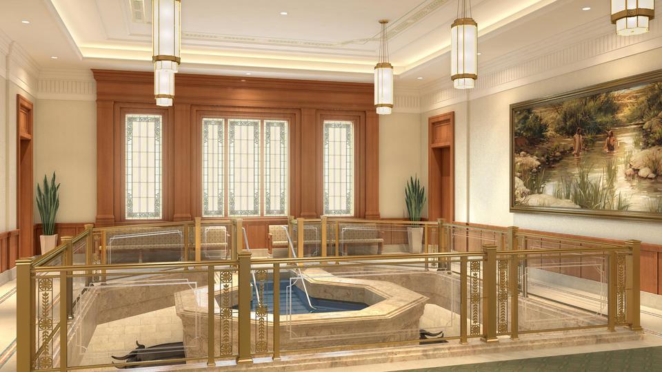 A Rare Treat: Church Releases Renderings of Interior of Pocatello Idaho Temple
