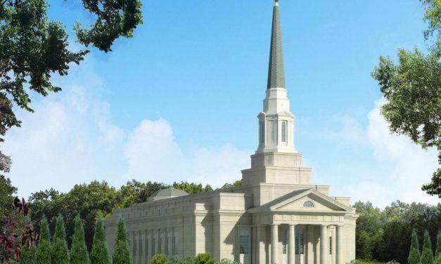 Renderings Released of Richmond Virginia Temple